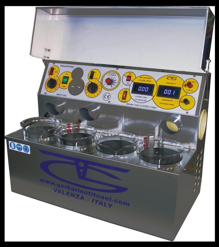Maquina de dar banho em ouro